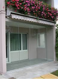 balkon wetterschutz fink wintergarten faltfenster