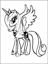 free my little pony printable birthday card coloring pages