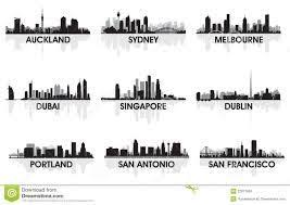 risultati immagini per san francisco skyline silhouette skyline