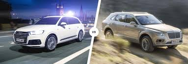 bentley bentayga silver bentley bentayga vs audi q7 carwow