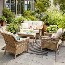 rolston wicker patio furniture target threshold outdoor furniture simplylushliving