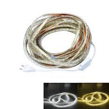 Led Flexible Light Strip by Waterproof 10m 5050 Smd Led Flexible Light Strip Ac220v With