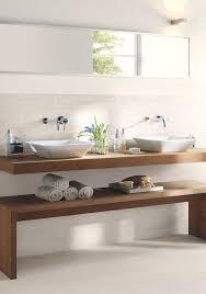 bathroom basin ideas niet deze bank maar als idee om bank onder wastafelmeubel te