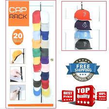 Over Door Closet Organizer - hard hat storage rack 8 hooks over door strap hanger rack storage