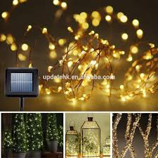 Solar Outdoor Christmas Tree Lights by Home Garden Decoration Christmas Flash Solar String Lights Solar