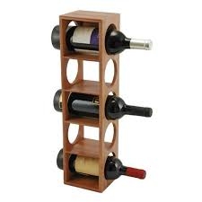 bottle vine stackable bamboo wine rack the wine cellars fine