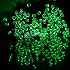 green led string lights waterproof 55ft 100led 3modes green solar fairy string lights solar