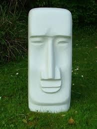 easter island moai statue garden sculpture ornament