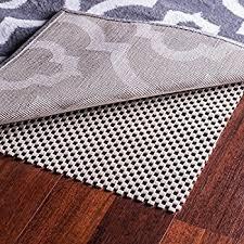 amazon com epica non slip area rug pad 4 x 6 for any