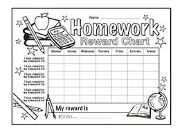 printable homework incentive charts 190 best reward charts images on pinterest rewards chart charts