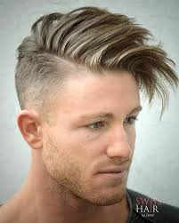 mens hair short sides long top male haircuts shaved sides long top