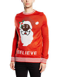 s sweater black santa sweater by tipsy elves