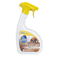 shop pledge 32 fl oz hardwood floor cleaner at lowes com