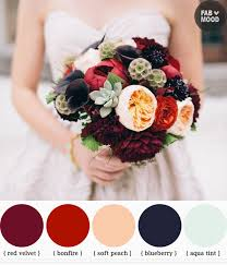 fall wedding color palette autumn wedding bouquets ideas 1 fab mood wedding colours