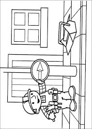 kids fun 87 coloring pages bob builder