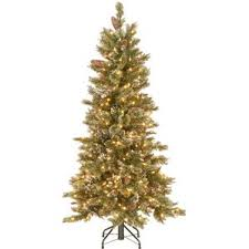 flocked christmas trees you u0027ll love wayfair