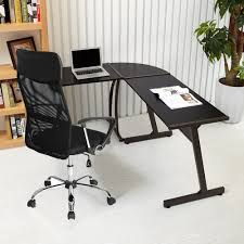 Corner Laptop Desks For Home Greenforest L Shape Corner Computer Desk Pc Laptop Table