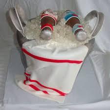 budweiser beer cake beer ice bucket fondant cake with rock candy ice edible beer