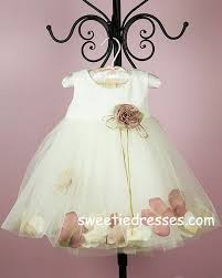 multi colored petal infant dress infant dresses