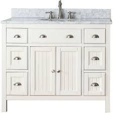 36 Inch Bathroom Vanity White Pure White Single Sink 36 Inch Bathroom Vanity Transitional 42