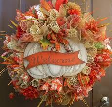 deco mesh ideas fall deco mesh wreath ideas inspiring autumn decor for the house