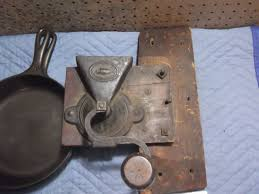 Cast Iron Coffee Grinder King U0027s Improved Patent Coffee Mill U2013 And A Chunk Of The Wall It