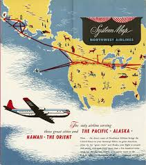 Alaska Route Map by Airlines Route Map