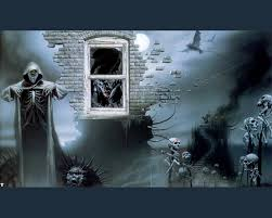 skeleton halloween background skeleton wallpaper and background 1280x1024 id 6880