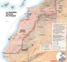 Morocco Africa Map by Africa U0027s Last Colony Western Sahara Under Moroccan Occupation