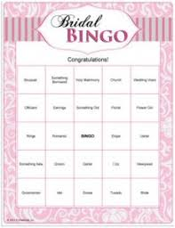 wedding words for bingo bridal shower bingo you can print out fast