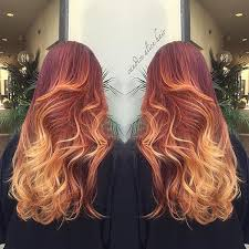 hair styles color in 2015 10 best red hairstyles for 2015 fall sunset hair balayage and