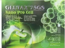 Glutax Inj glutax 75gs nano procell glutathione iv complete set
