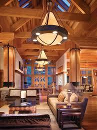Rustic Design Ideas Canadian Log Homes - Log home interior designs