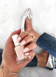 four neutral nail polishes for the perfect everyday mani