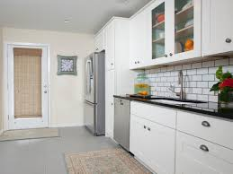 kitchen floor tiles advice wooden dining table black metal stove