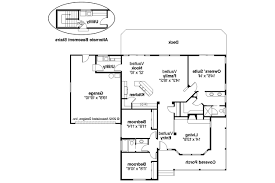 ranch style floor plans 3000 sq ft craftsman house plans cauldwell 30 509 associated designs with