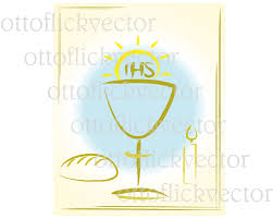 Holy Communion Invitation Cards Samples My First Holy Communion Vector Clipart Digital Invitation Card