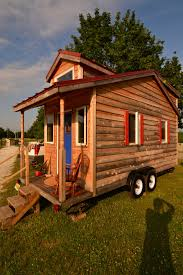 Tumbleweed Tiny House B 53 by Man Builds 145 Sq Ft Tiny Home To Escape Corporate Life