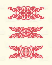 ornaments of china style stock vector 522134147 istock