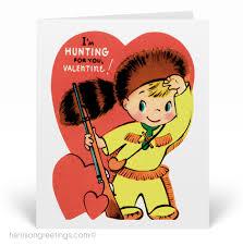 retro valentines vintage retro s day card val137 custom invitations