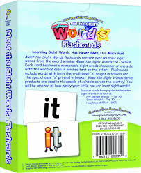 Words Cards Meet The Sight Words Flashcards Kathy Oxley Sherwin Rosario