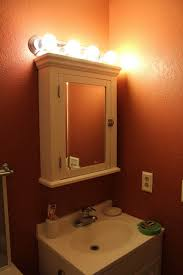 bathroom cabinets lighted medicine cabinet with mirror