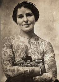 tattooed women in the victorian age tattoo life