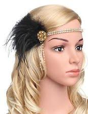 feather headband flapper feather headband clothing shoes accessories ebay