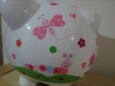 Baptism Piggy Bank Personalized Large Piggy Bank Kidsline Willow Organic Newborns