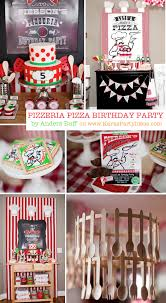 pizza birthday party planning ideas supplies idea cake baking