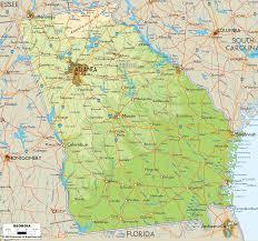 Political Map Us Us Political Map Georgia Thempfa Org
