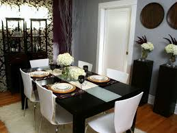 dining room attractive dining table top decor ideas white fluffy