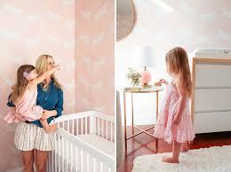 a pink bunny nursery with target u0026 emily henderson green wedding