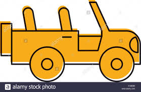 yellow jeep clipart pick up trailer icon vector stock photos u0026 pick up trailer icon